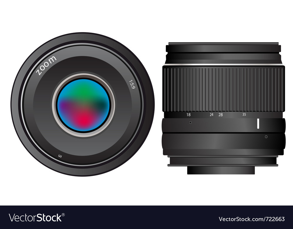 Lenses to camera vector   Price: 1 Credit (USD $1)
