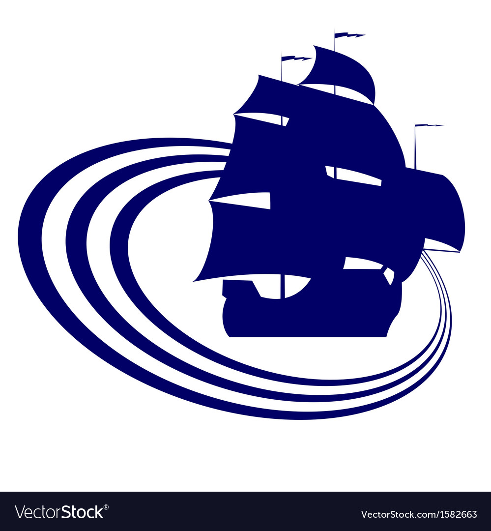 Sailing ship-7 vector | Price: 1 Credit (USD $1)