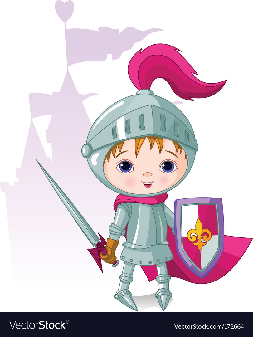 Brave knight vector | Price: 3 Credit (USD $3)