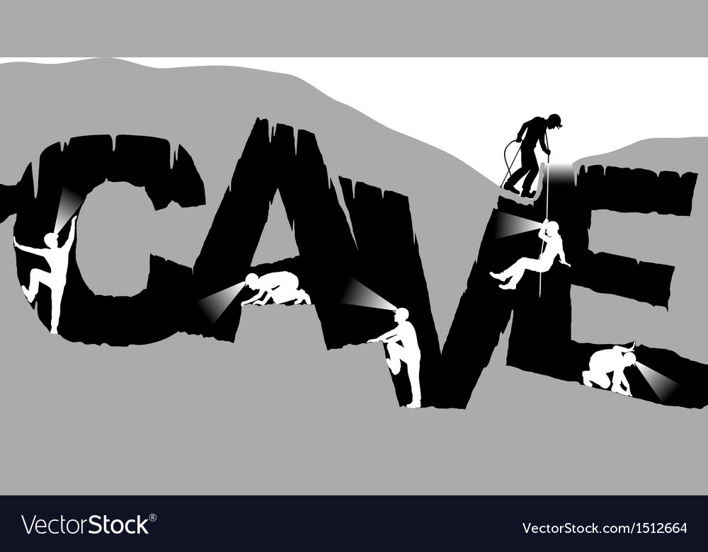 Caving vector | Price: 1 Credit (USD $1)