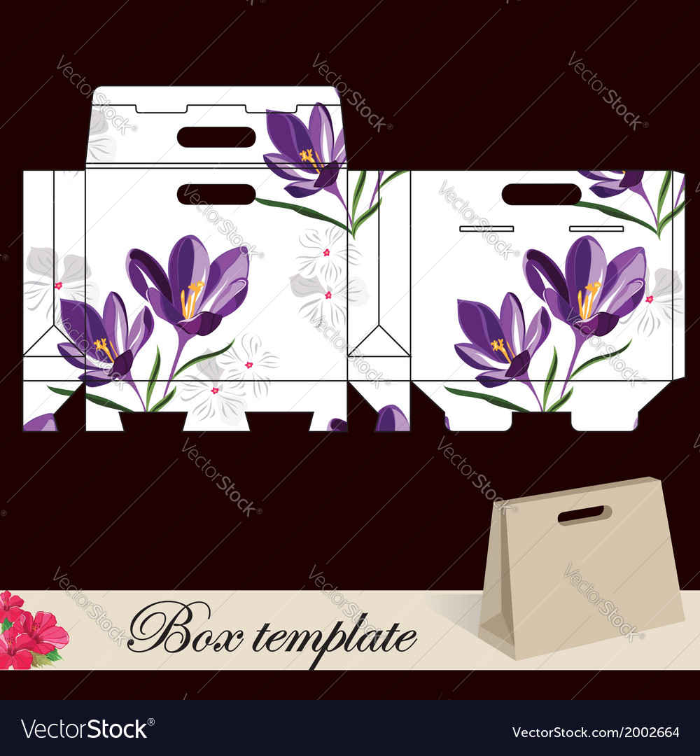 Gift box template vector   Price: 1 Credit (USD $1)