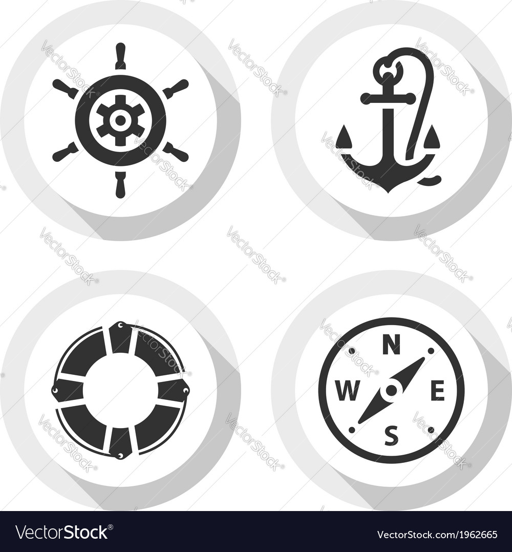 Set of travel flat icons vector | Price: 1 Credit (USD $1)