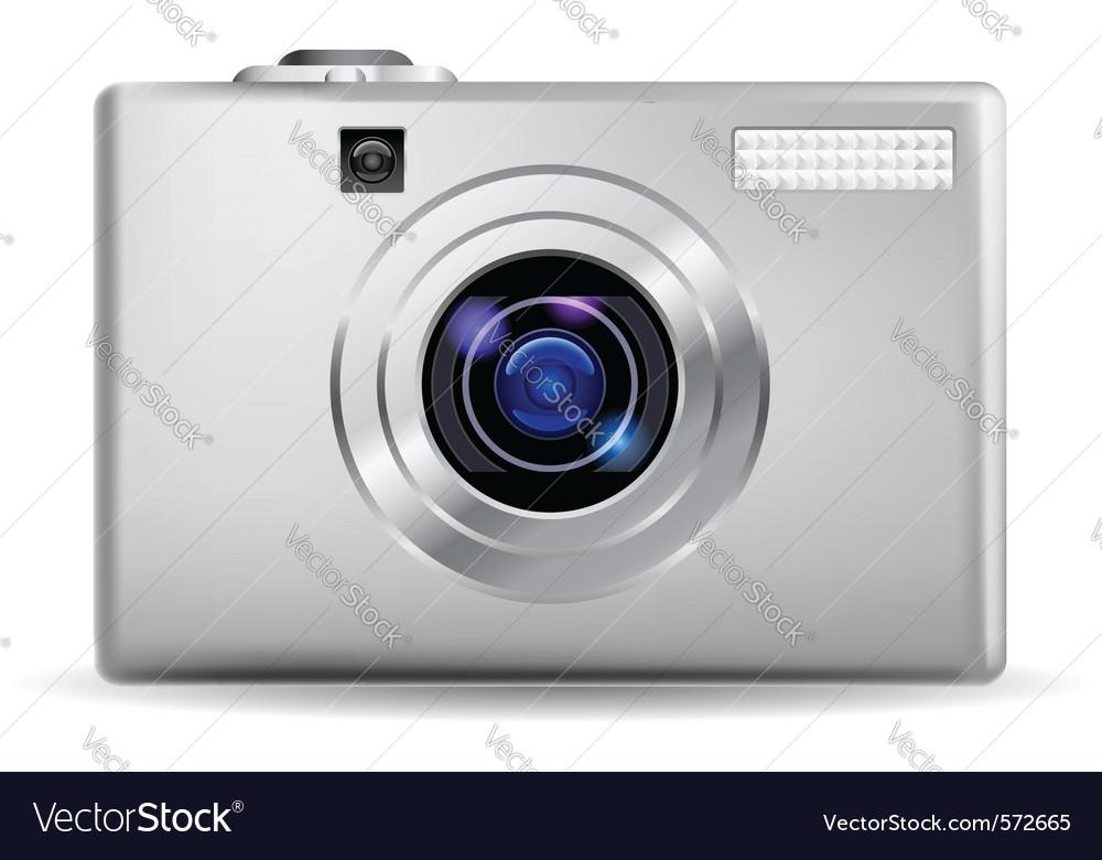 Simple digital camera vector | Price: 1 Credit (USD $1)