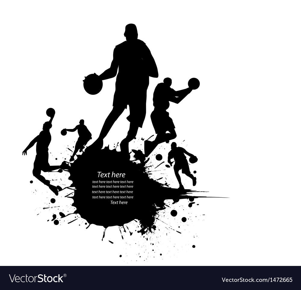 Sportsperson silhouette vector