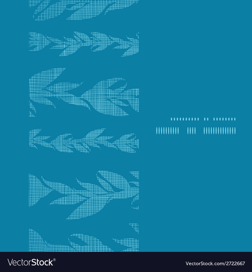 Blue vines stripes textile textured vertical frame vector   Price: 1 Credit (USD $1)