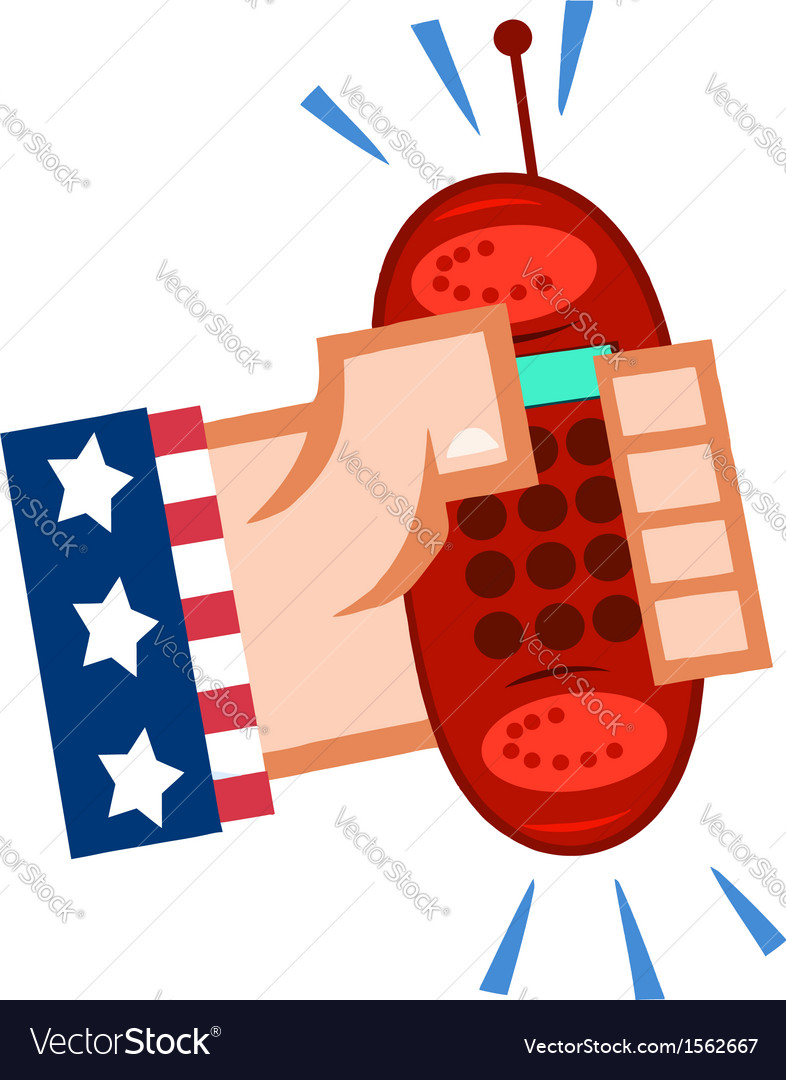 Cartoon cell phone vector   Price: 1 Credit (USD $1)