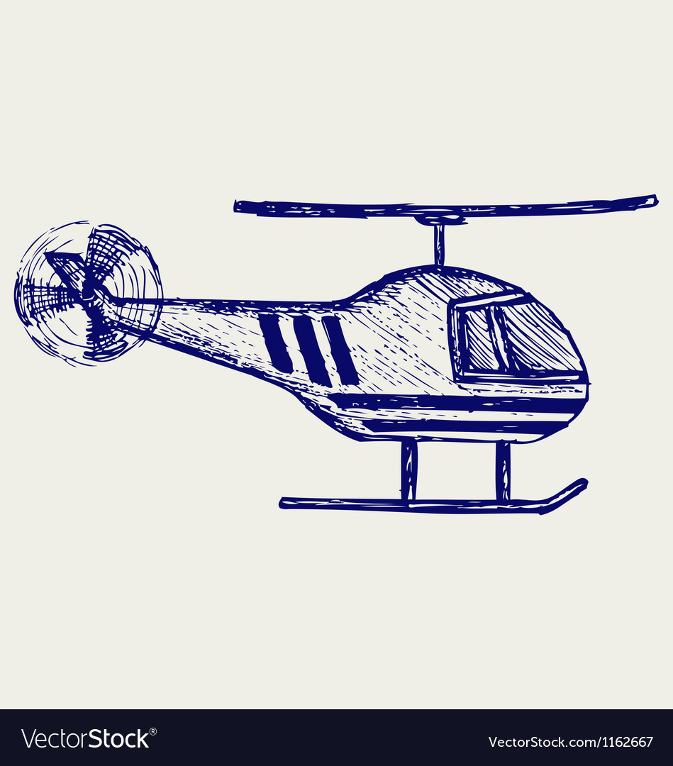 Helicopter vector | Price: 1 Credit (USD $1)