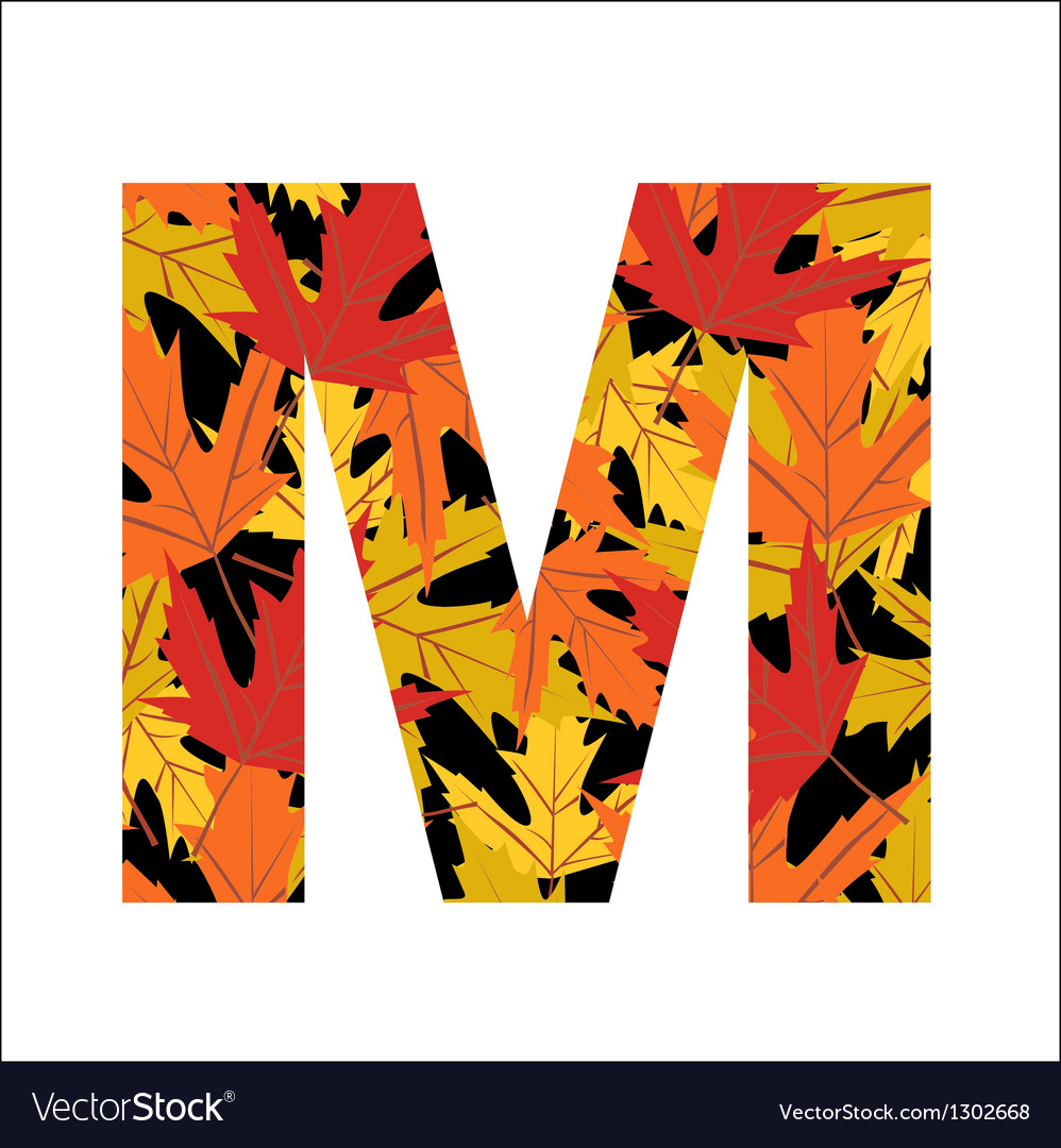 M letter vector | Price: 1 Credit (USD $1)