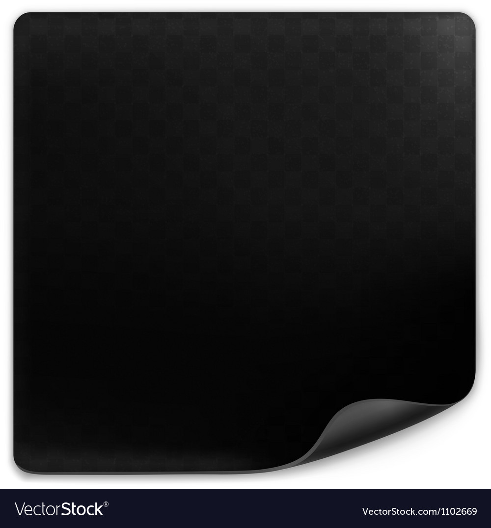 Black page vector | Price: 1 Credit (USD $1)