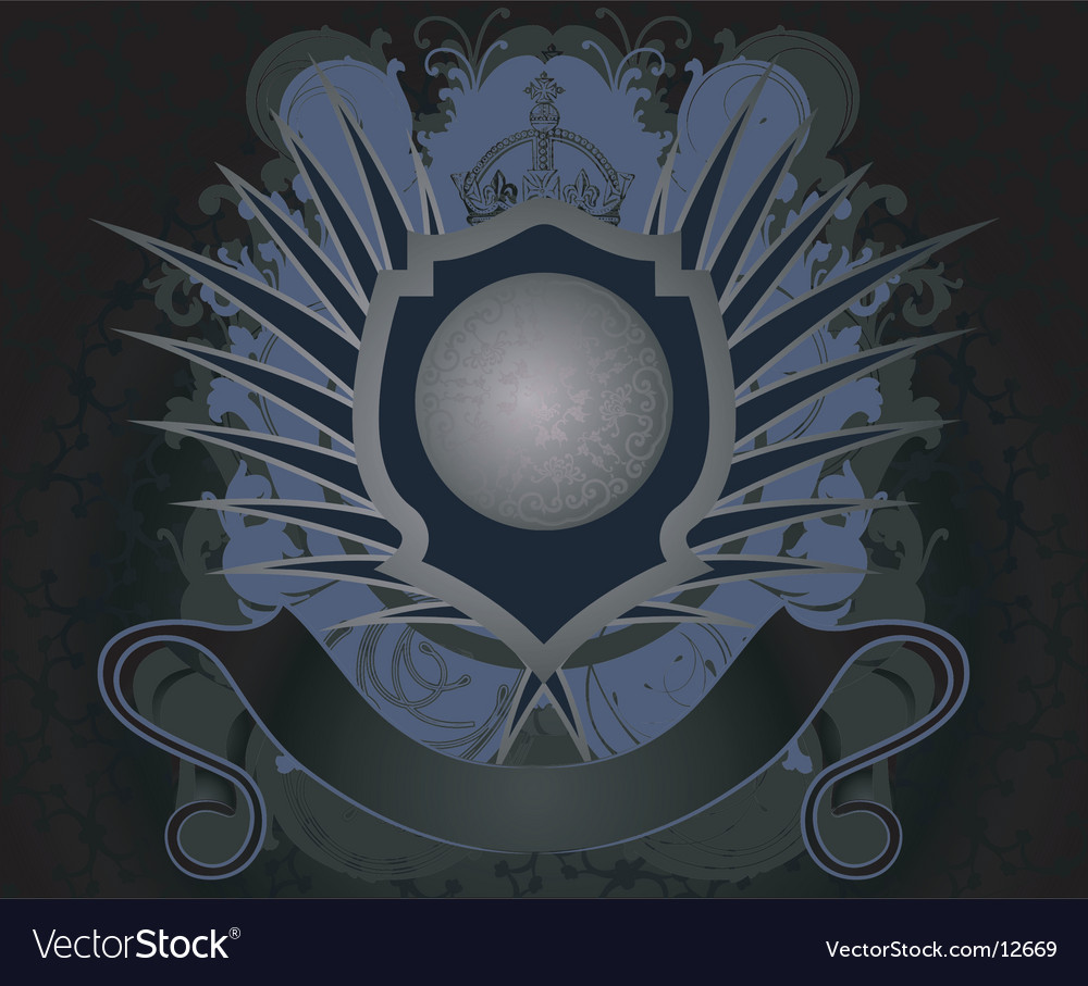 Grunge royal label vector | Price: 1 Credit (USD $1)