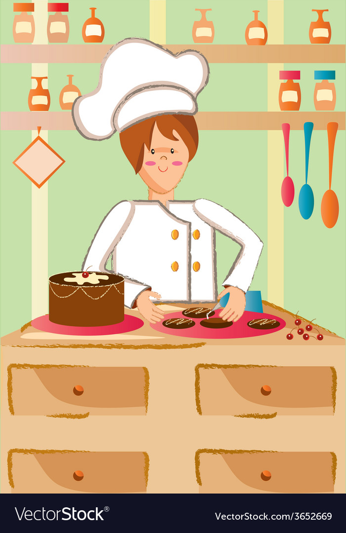 Pastry vector | Price: 1 Credit (USD $1)