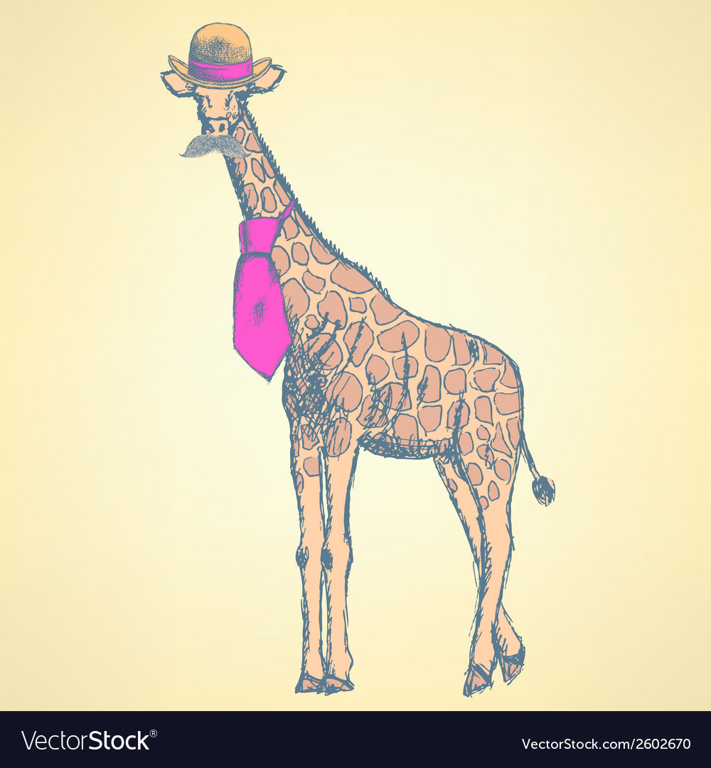 Giraffe c vector | Price: 1 Credit (USD $1)