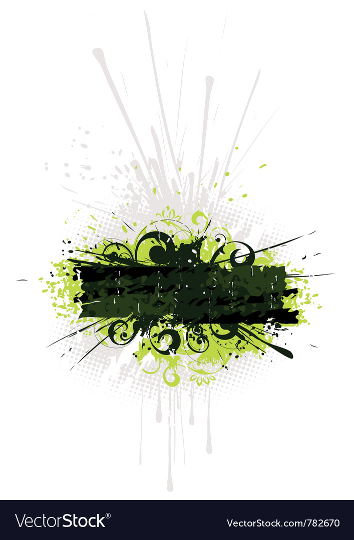 Green and black artwork vector | Price: 1 Credit (USD $1)