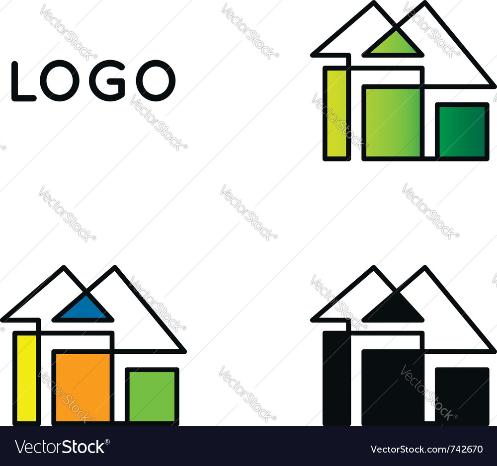 House logo vector | Price: 1 Credit (USD $1)