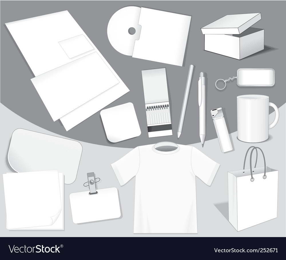 Blank objects vector | Price: 3 Credit (USD $3)