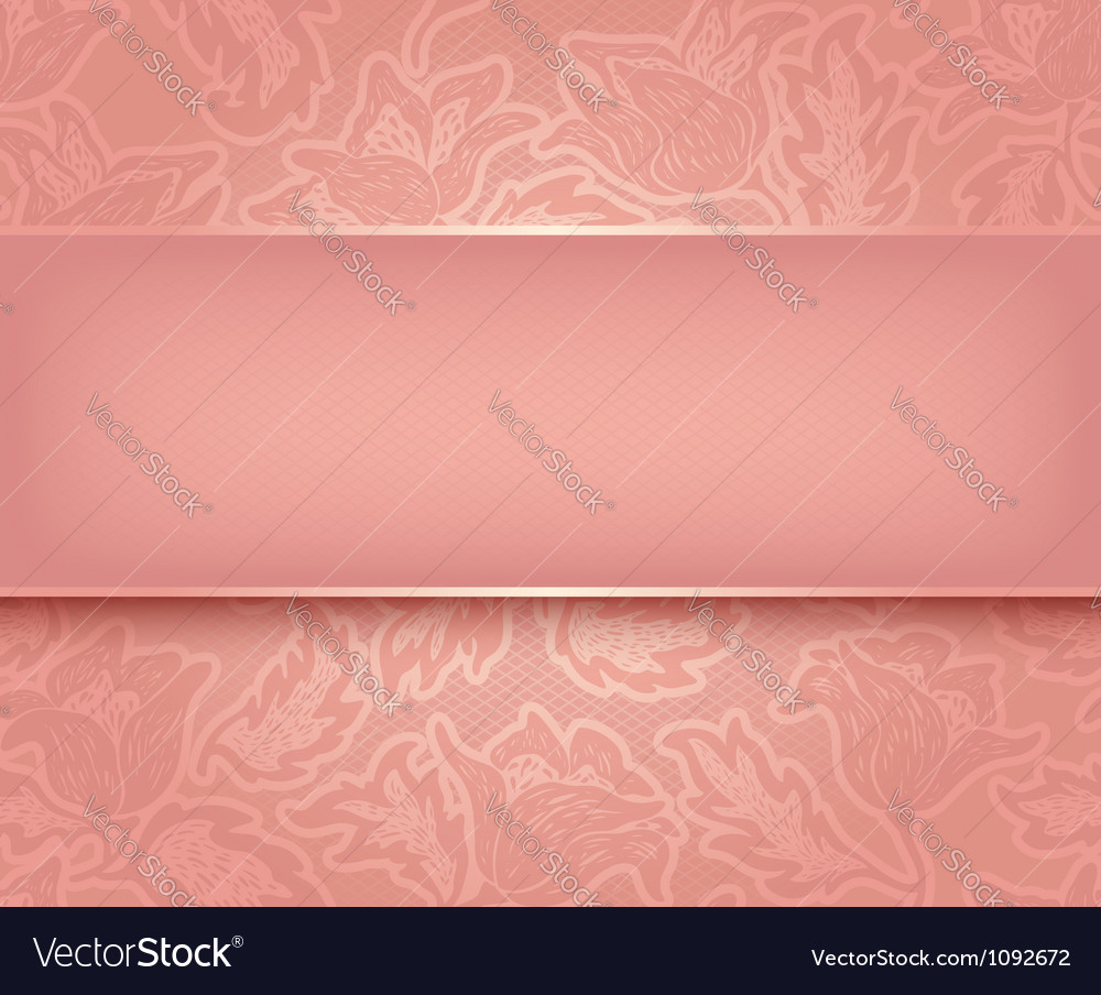 Lace pink vector | Price: 1 Credit (USD $1)