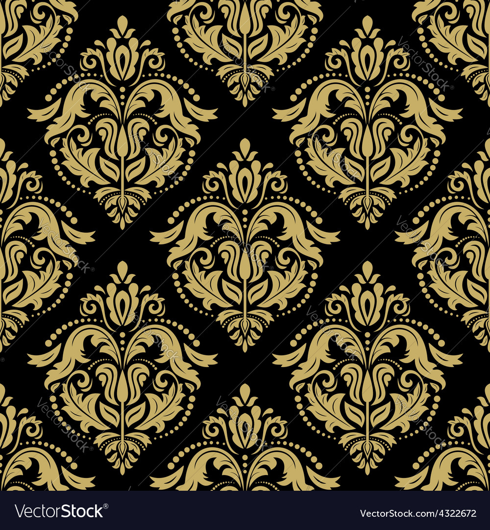 Seamless orient background vector | Price: 1 Credit (USD $1)