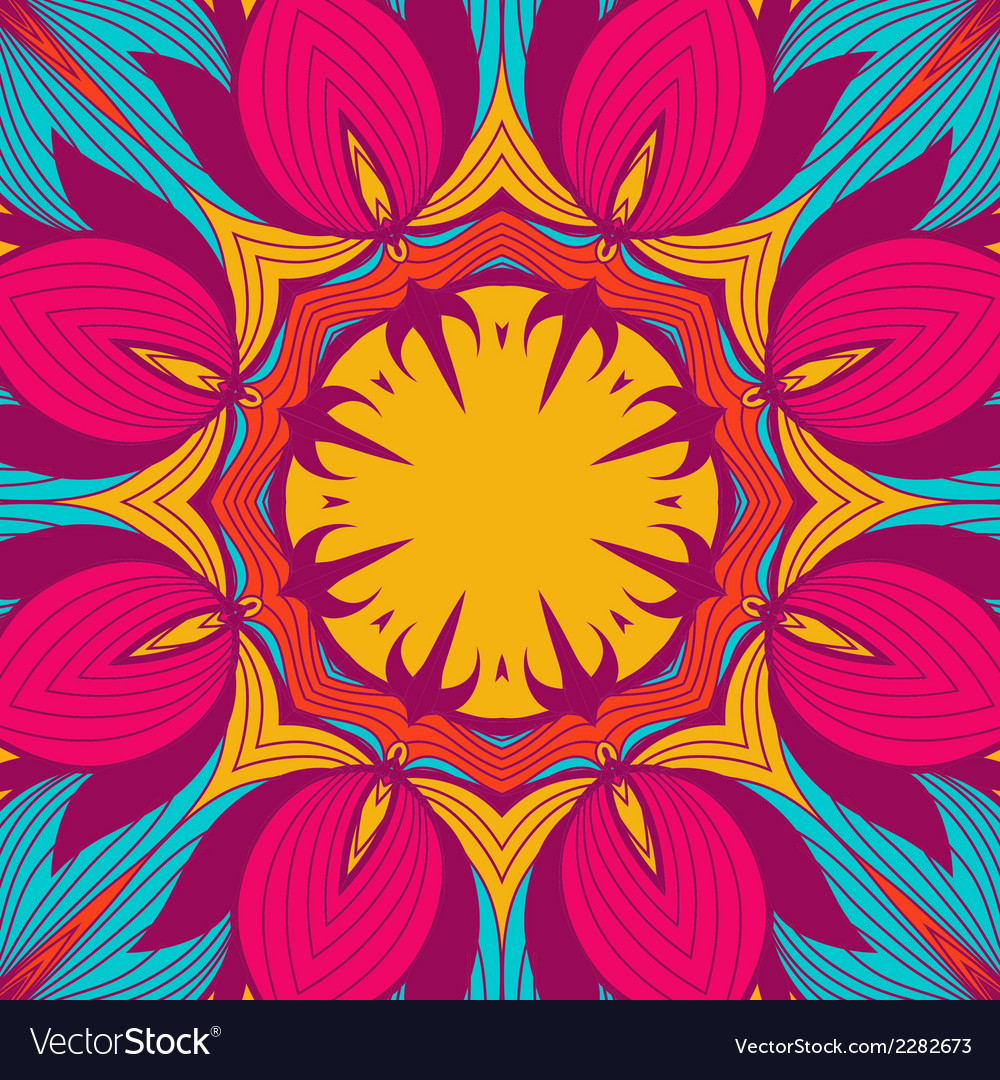 Background from round lace pattern with natural vector   Price: 1 Credit (USD $1)