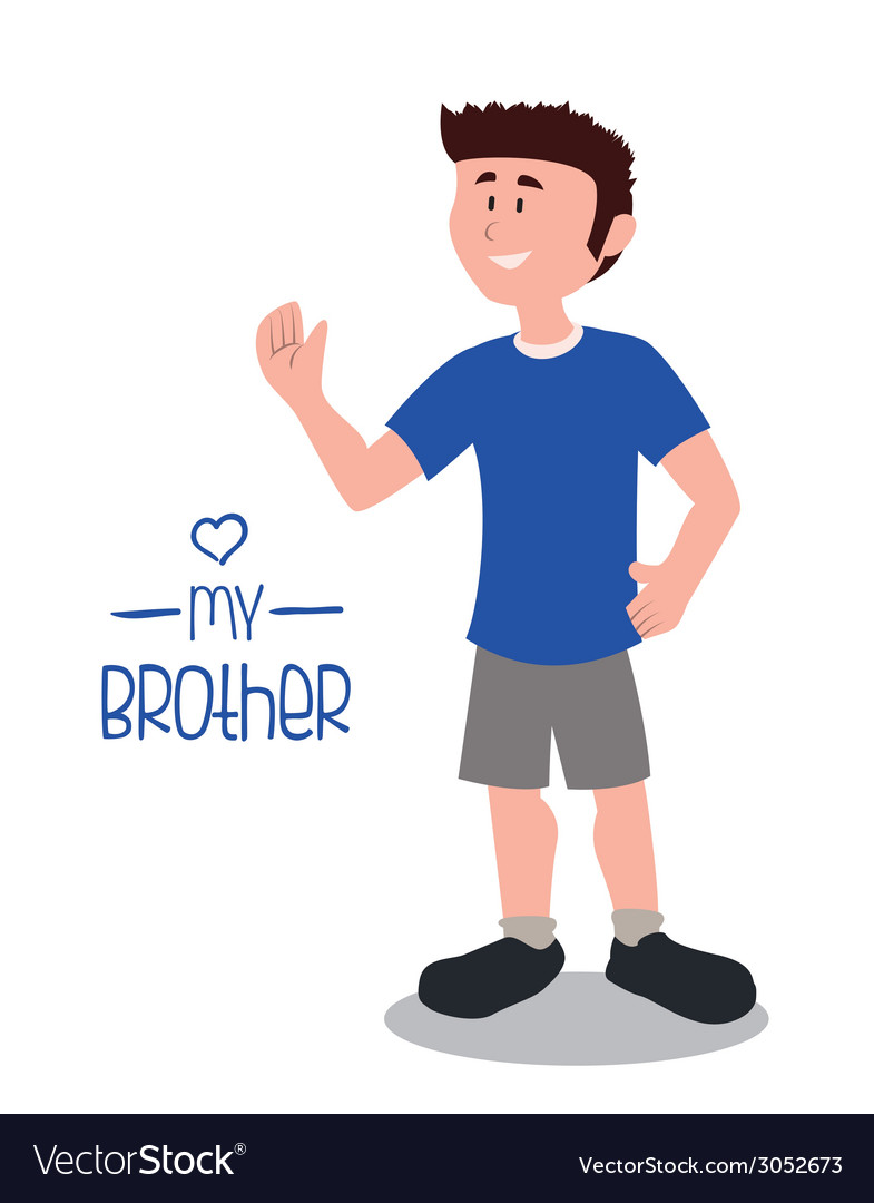Brother design vector | Price: 1 Credit (USD $1)