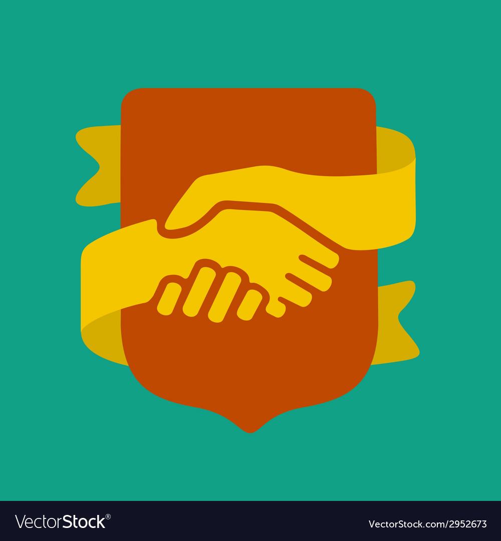 Handshake symbol vector | Price: 1 Credit (USD $1)