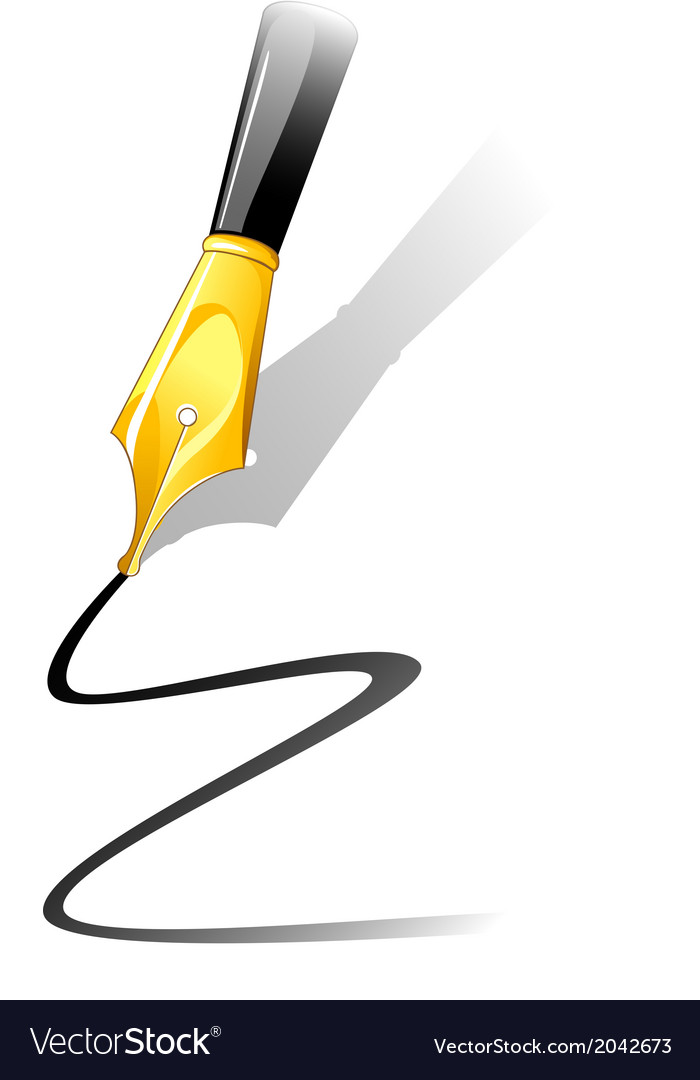 Ink pen vector | Price: 1 Credit (USD $1)