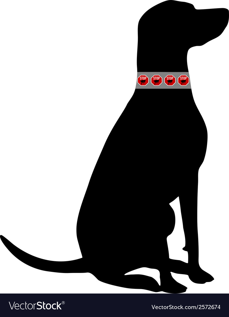 Dog flea collar vector | Price: 1 Credit (USD $1)