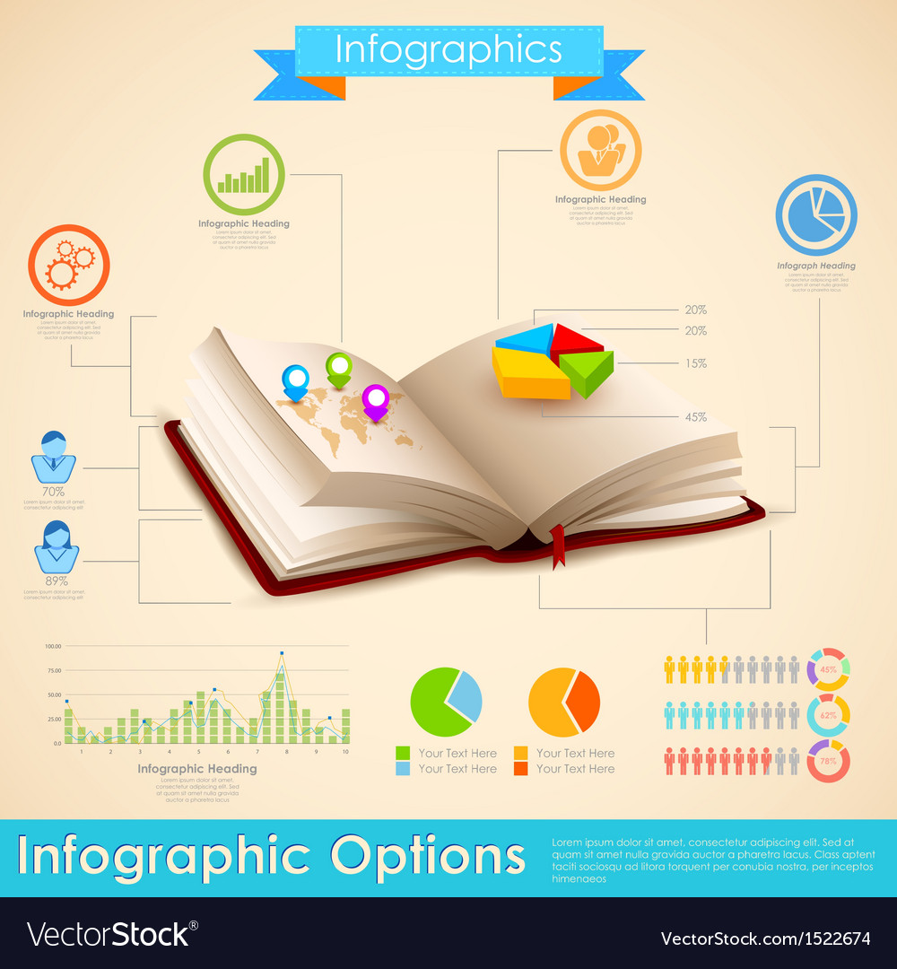 Education infographic vector | Price: 3 Credit (USD $3)