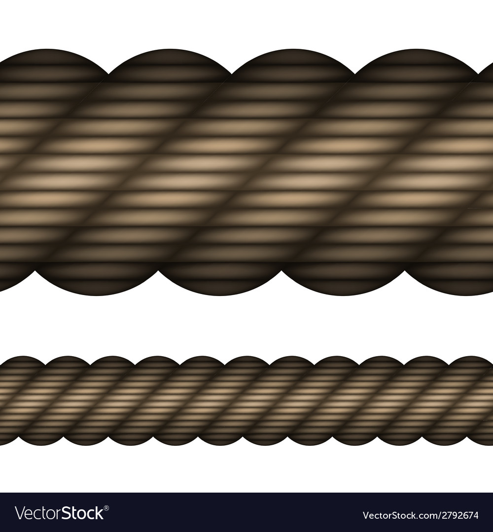 Seamless rope vector | Price: 1 Credit (USD $1)