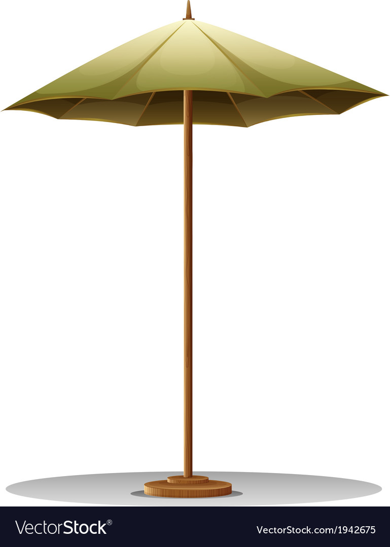 A table umbrella vector | Price: 1 Credit (USD $1)