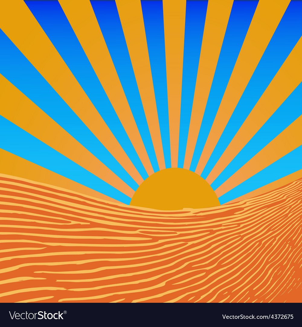 Background sun beams vector | Price: 1 Credit (USD $1)