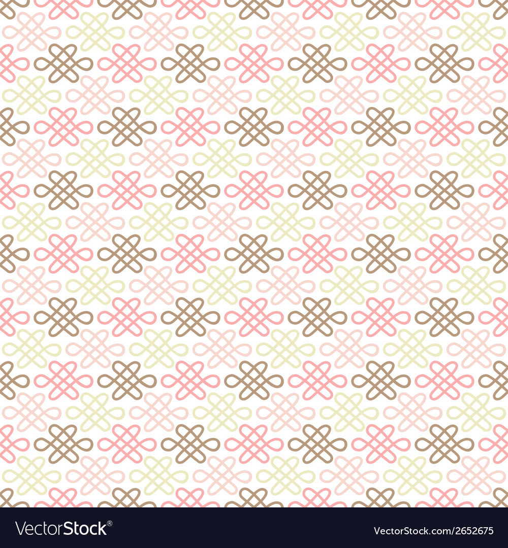Delicate lovely seamless pattern tiling vector | Price: 1 Credit (USD $1)