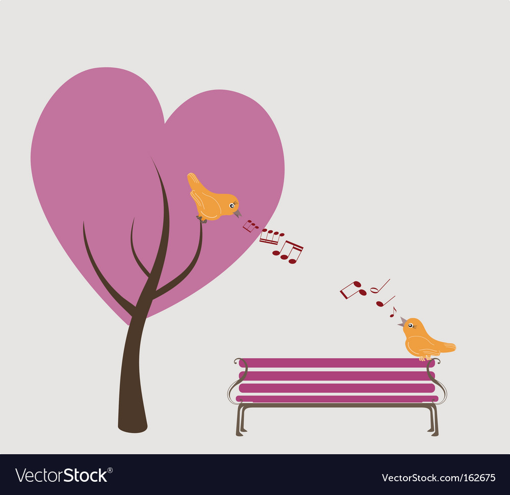Lovers park vector | Price: 1 Credit (USD $1)