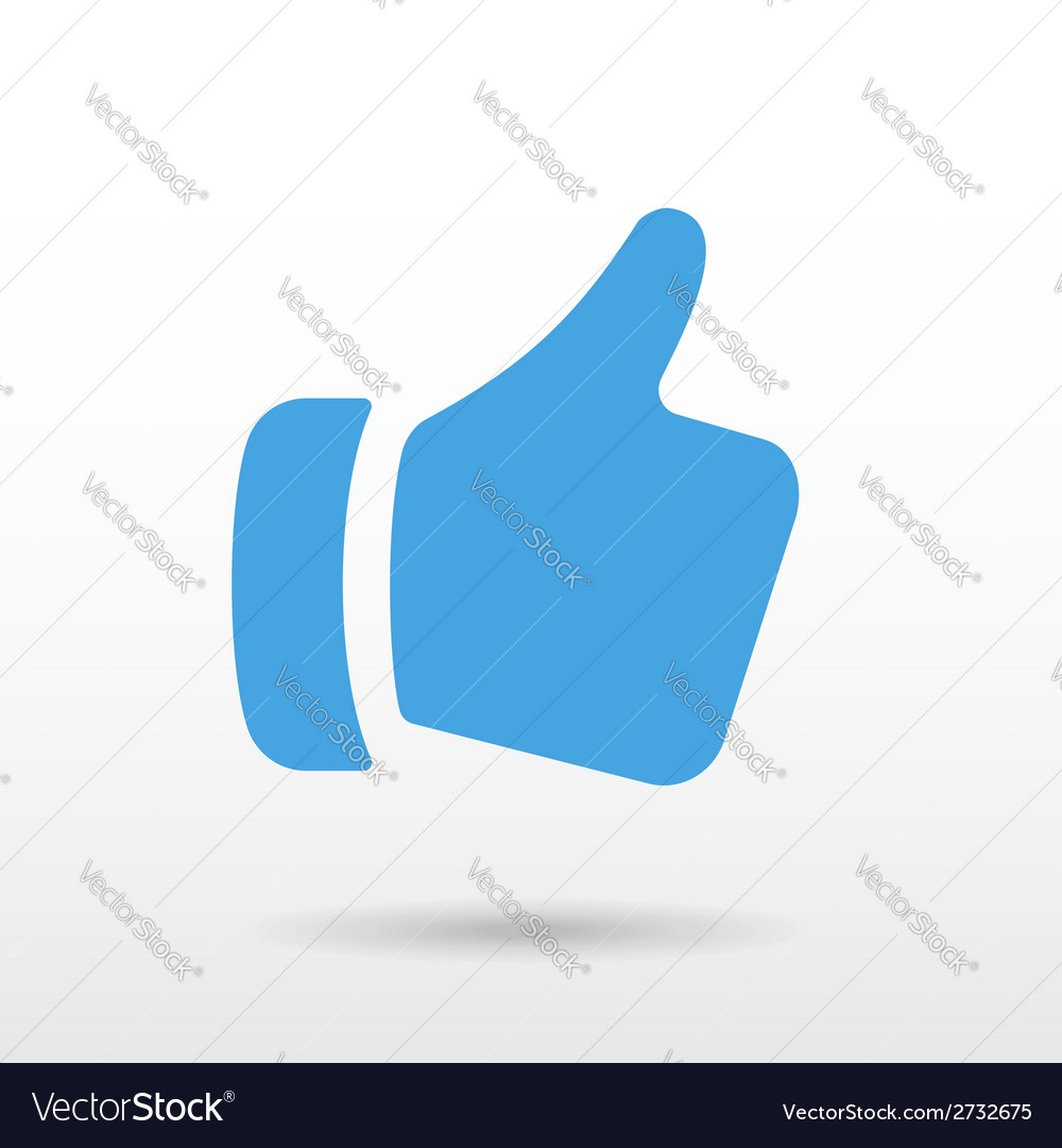 Thumbs up vector | Price: 1 Credit (USD $1)