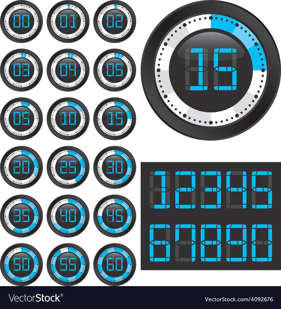 Black chronometers vector   Price: 1 Credit (USD $1)
