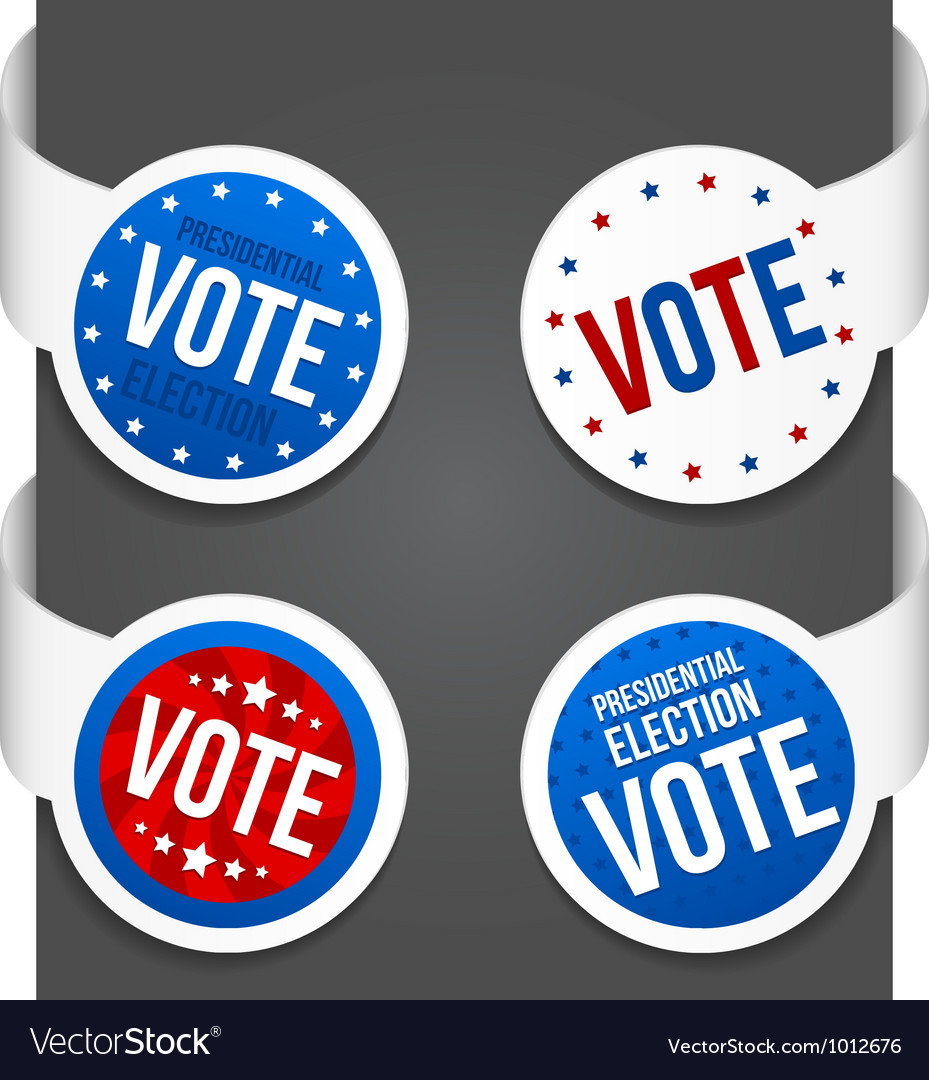 Left and right side signs - vote vector | Price: 3 Credit (USD $3)