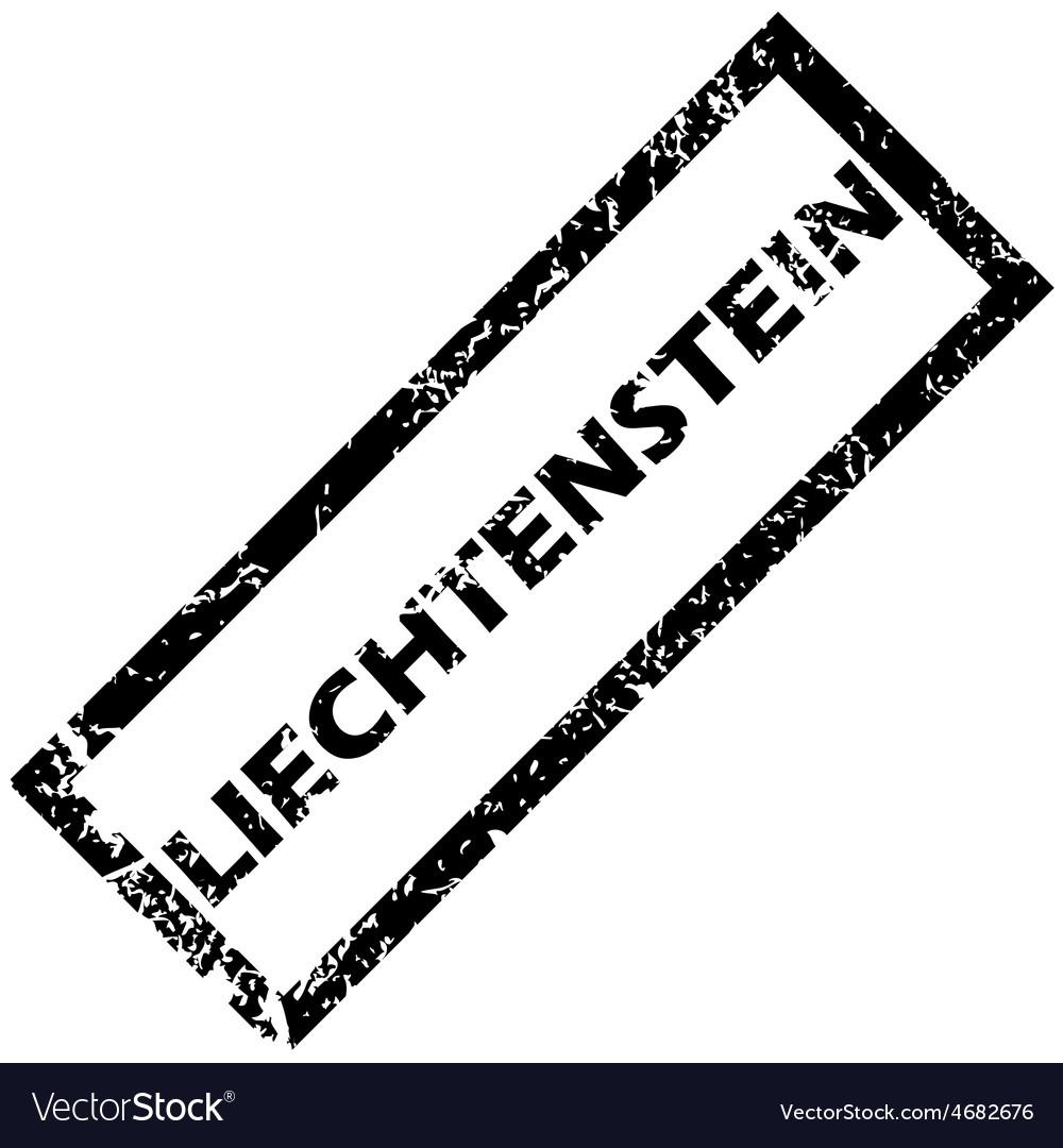 Liechtenstein rubber stamp vector   Price: 1 Credit (USD $1)