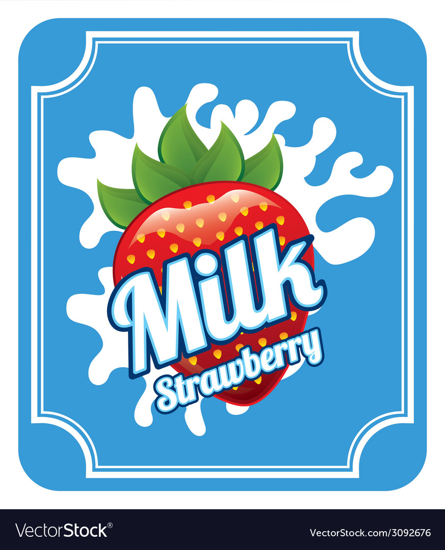 Milk design vector | Price: 1 Credit (USD $1)