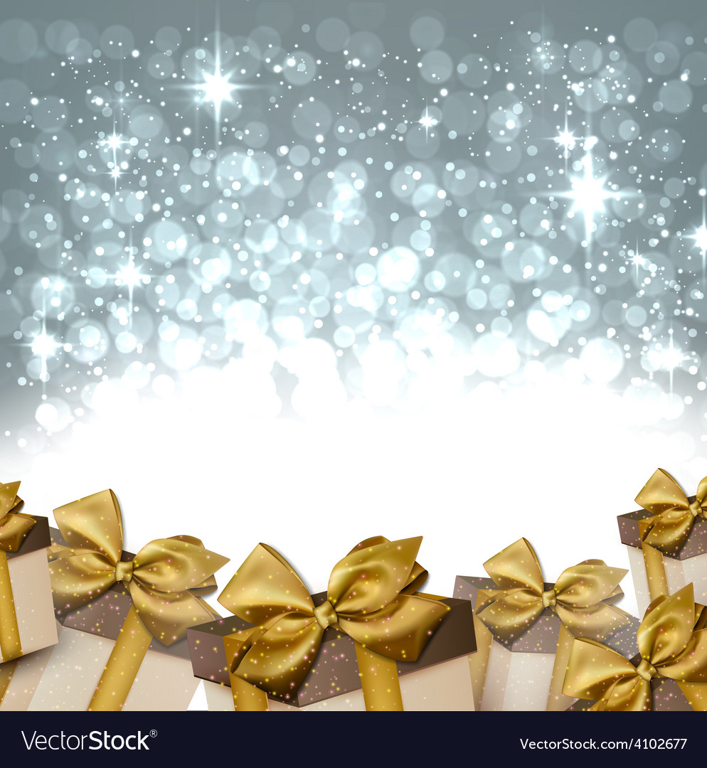 Christmas silver abstract background vector | Price: 1 Credit (USD $1)