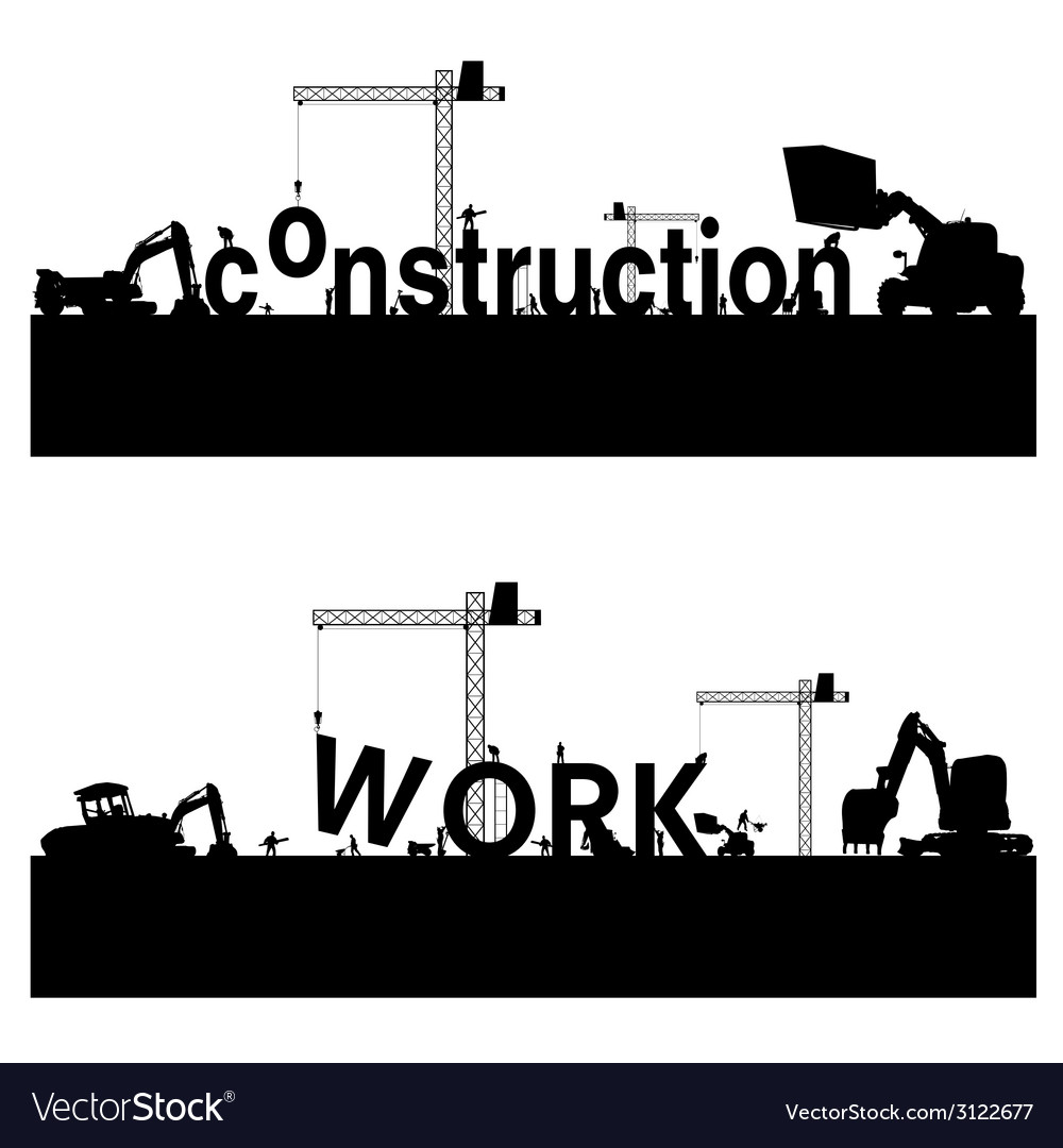 Construction work vector | Price: 1 Credit (USD $1)