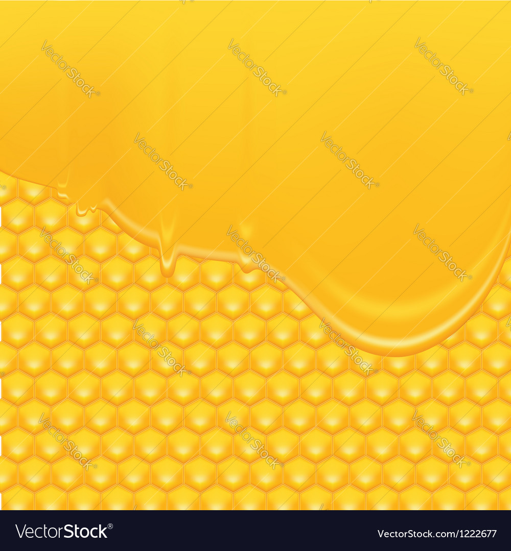 Honey background 2 vector | Price: 1 Credit (USD $1)