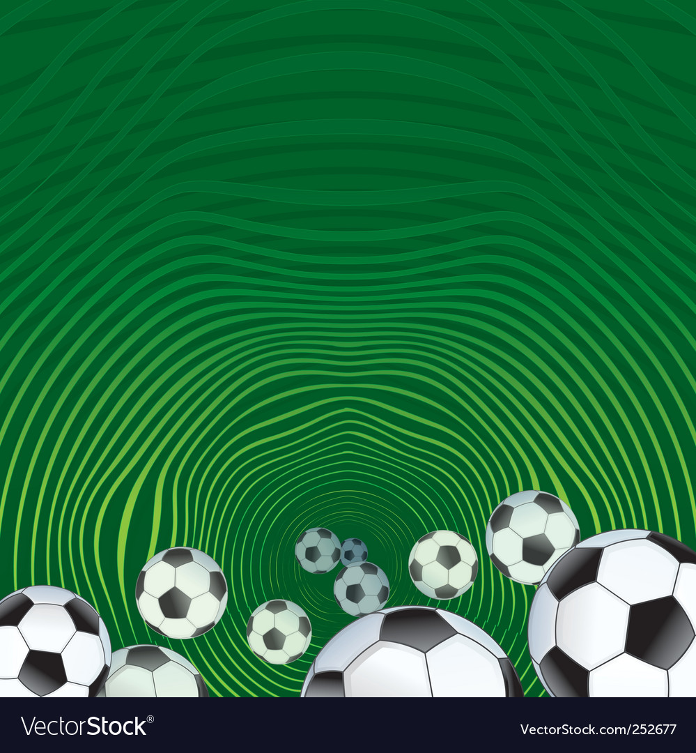 Soccer background vector | Price: 3 Credit (USD $3)