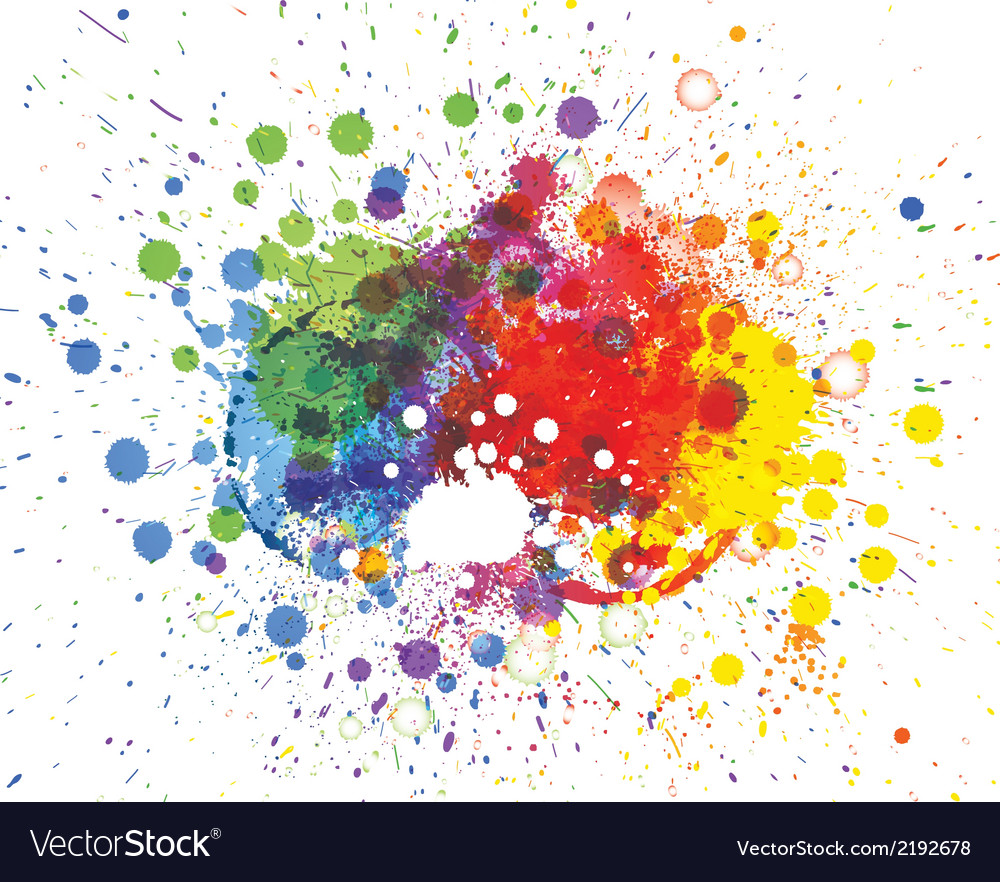 Abstract spots background with place for your text vector   Price: 1 Credit (USD $1)