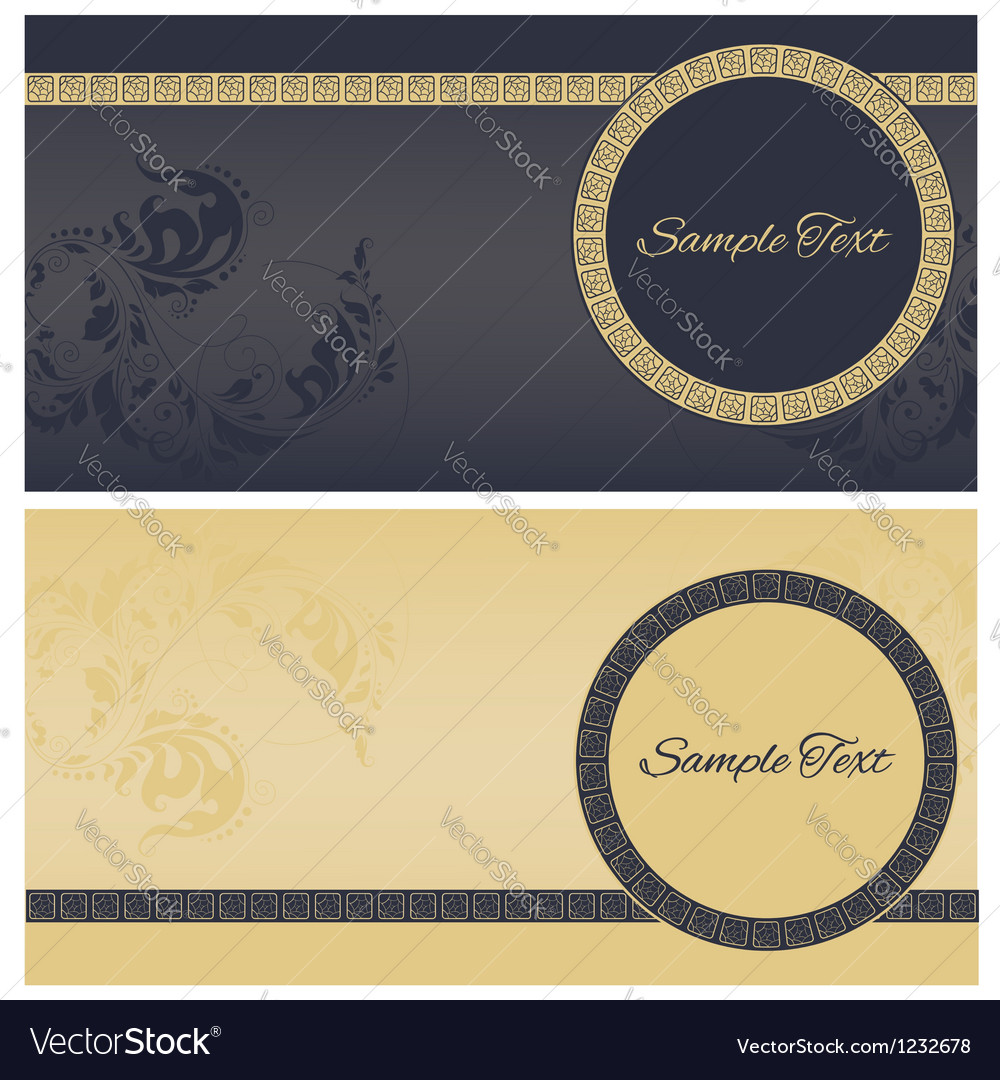 Beautiful greeting cards vector | Price: 1 Credit (USD $1)