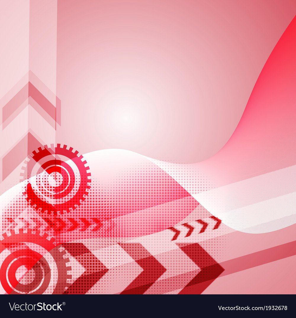 Colored arrow abstract background vector | Price: 1 Credit (USD $1)