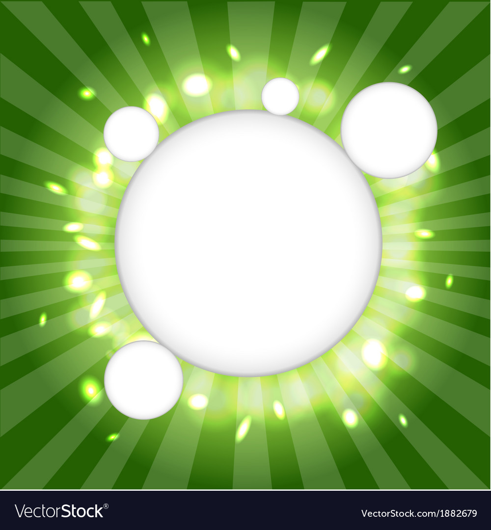 Green web cloud vector | Price: 1 Credit (USD $1)