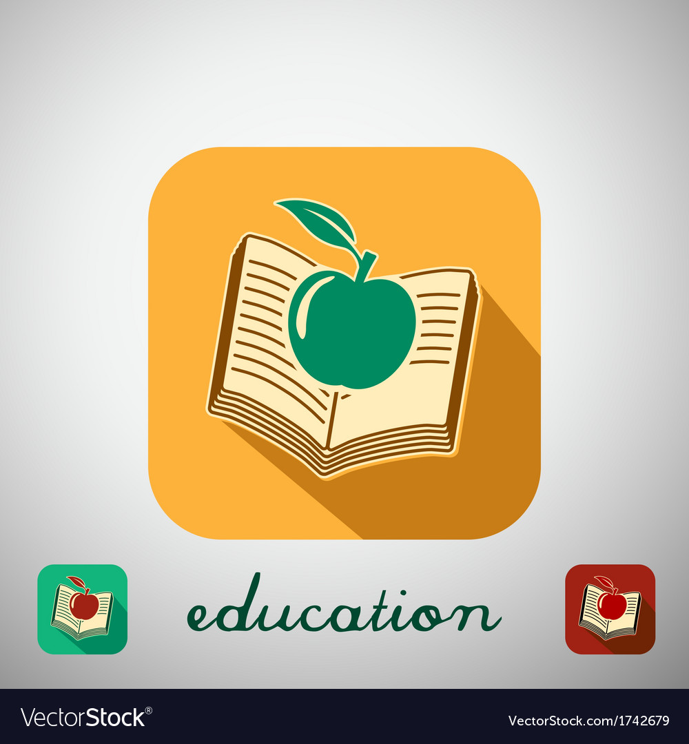 Icon education vector | Price: 1 Credit (USD $1)