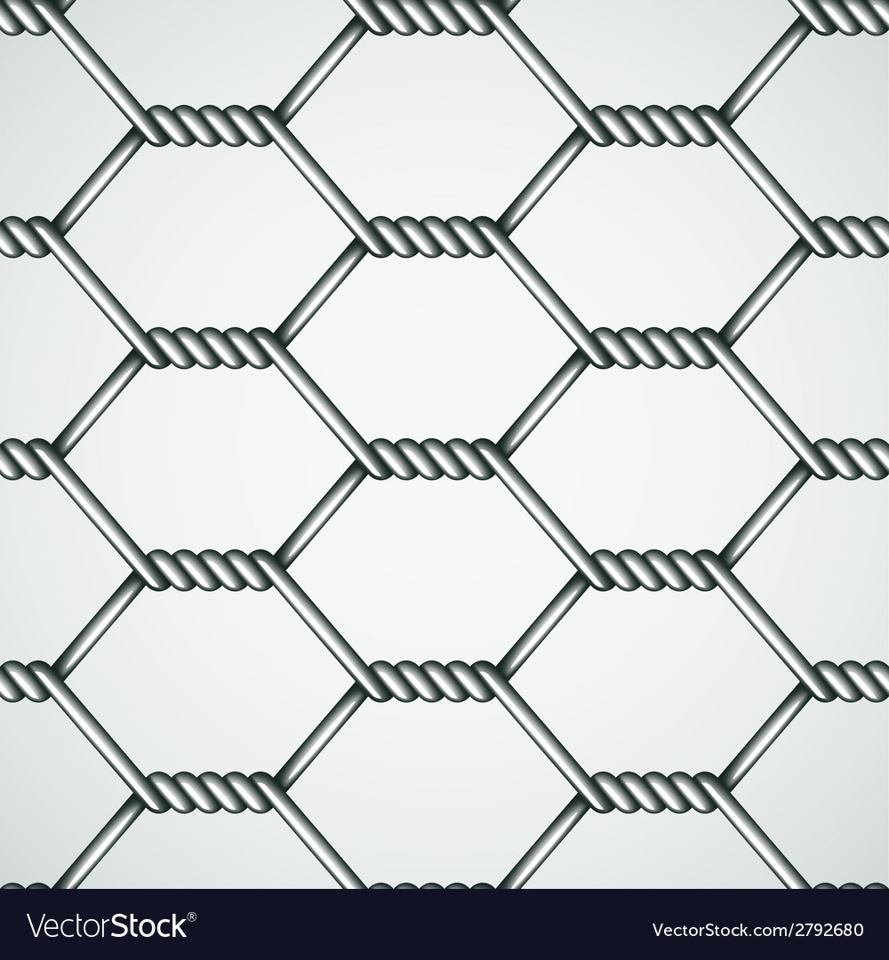 Chicken wire seamless background vector | Price: 1 Credit (USD $1)