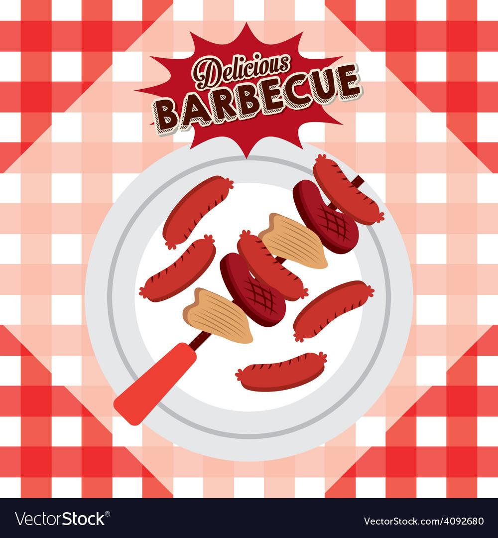 Delicious barbecue vector   Price: 1 Credit (USD $1)