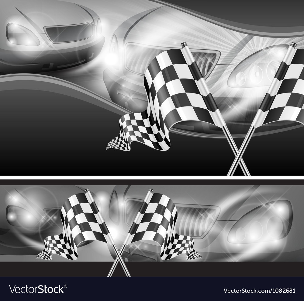 Chequered flag auto background 10 v vector | Price: 3 Credit (USD $3)