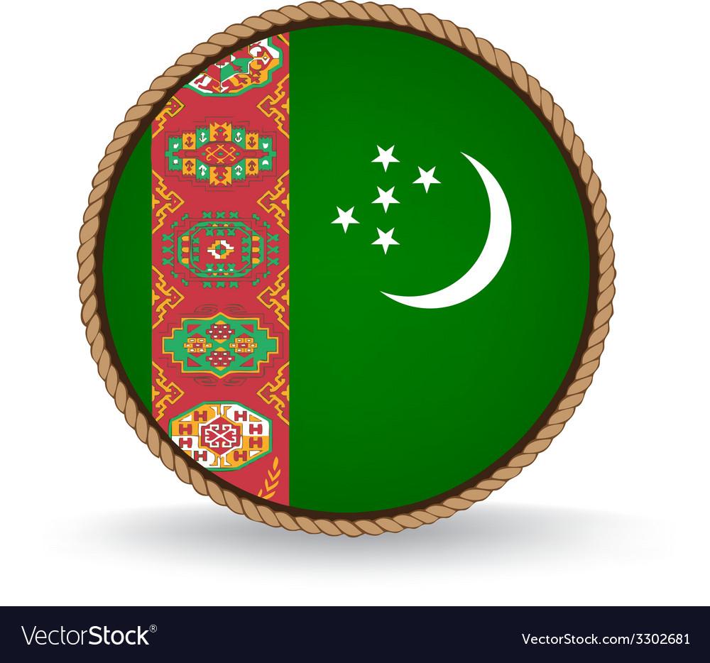 Turkmenistan seal vector   Price: 1 Credit (USD $1)